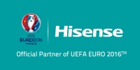 Official partner of UEFA Euro 2016